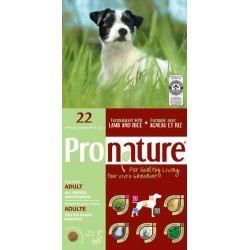 Karma z jagnieciną i ryżem 3kg dla psów Pronature