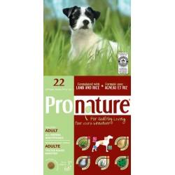 Karma z jagnieciną i ryżem 15kg dla psów Pronature