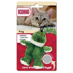 Kong zabawka dla kota żaba z kocimiętką