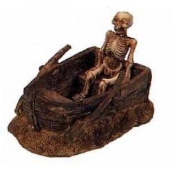 Dekoracja - Szkielet w łodzi