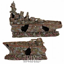 Dekoracja - Wrak krążownika 70 cm