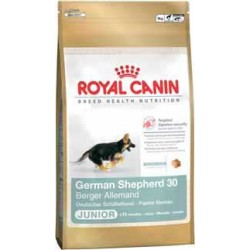 GERMAN SHEPHERD JUNIOR 12kg, szczenięta ON, karma Royal Canin