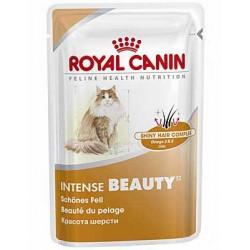 Intense Beauty, pakiet 4 x 85g dla kotów o wrażliwej skórze i sł