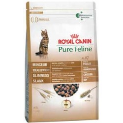 Pure Feline n.02 1,5kg, smukła sylwetka, karma Royal Canin