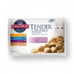 Adult Mix - 4 saszetki o różnych smakach dla kotów, karma Hill's