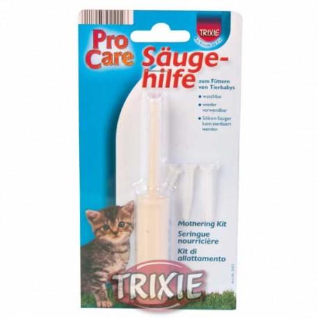 Strzykawka ze smoczkami do karmienia Trixie