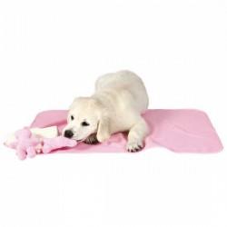 Zestaw dla szczeniaczka różowy z kocykiem i ręcznikiem Trixie
