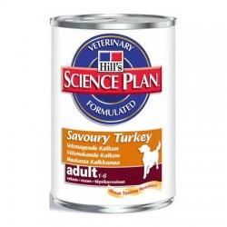Adult Turkey, puszka 370g dla psa z indykiem Hill's