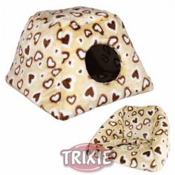 """Jaskinia/sofa """"Heart"""" dla psa lub kota Trixie"""