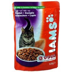IAMS RABBIT, saszetka dla kotów z królikiem w galaretce