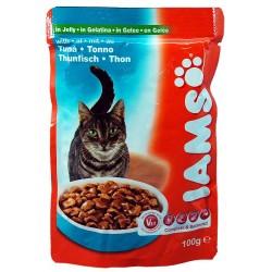 IAMS TUNA saszetka dla kotów z tuńczykiem w galaretce