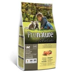 Karma holistyczna 2,72kg z kurczakiem dla kociąt Pronature
