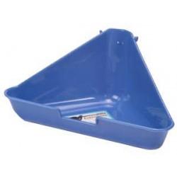 Toaleta narożna do klatki gryzonia, duża