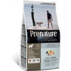 Karma holistyczna 13,6kg z łososiem dla psa Pronature