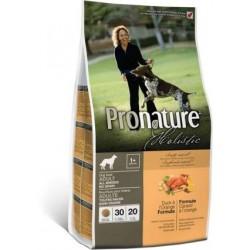 Karma holistyczna 13,6kg z kaczką bez zbóż dla psa Pronature