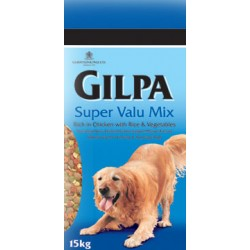 Gilpa Super Valu Mix 4kg, karma dla psa z kurczakiem