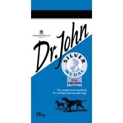 Dr. John Silver 15kg, karma dla psów z pracujących z kurczakiem