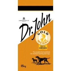 Dr. John Gold 4kg, karma dla psów pracujących z kurczakiem