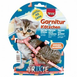 "Szelki i smycz dla kociąt Trixie ""Kitty Cat"""