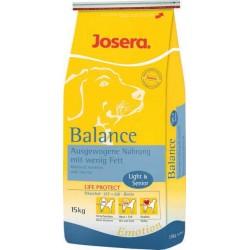 Josera Balance 15kg, karma dla psów starszych i mało aktywnych