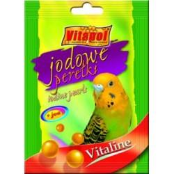 """Vitapol dodatek """"Jodowe perełki"""" dla papużki falistej"""