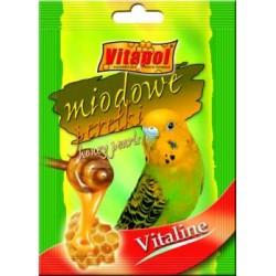 """Vitapol dodatek """"Miodowe perełki"""" dla papużki falistej"""