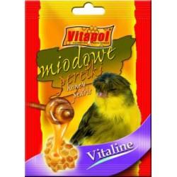 """Vitapol dodatek """"Miodowe perełki"""" dla kanarka"""