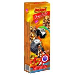 Vitapol kolby XXL orzechowo-owocowe dla dużych papug (2 sztuki)