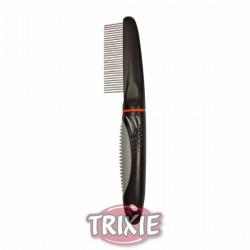 Grzebień dla psa obrotowy, zęby średnie Trixie de Luxe