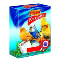 Vitapol kostka wapienna XL dla ptaków naturalna