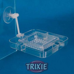 Karmnik prostokątny 7cm z sitkiem Trixie