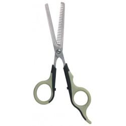 Nożyce trymerskie do cieniowania jednostronne, 18,5 cm