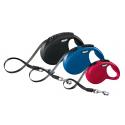 Flexi New Classic z taśmą - smycz automatyczna dla psa, kota lub małych zwierząt
