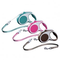 Flexi Vario z linką - smycz automatyczna dla psa, kota lub małych zwierząt