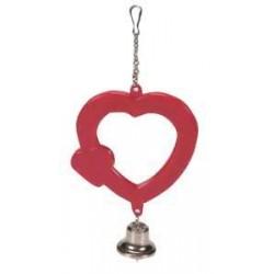 Lusterko - serduszko z dzwonkiem