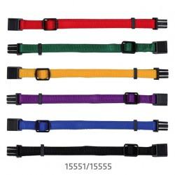 Obróżki dla szczeniąt ras małych (6 sztuk) kolorowe Trixie, zestaw 1