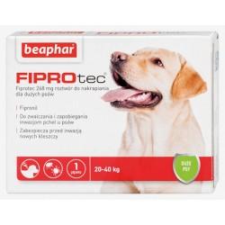 BEAPHAR FIPROtec - preparat przeciw pchłom i kleszczom dla psa - XL ( 20-40 kg)