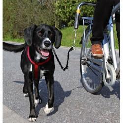 Smycz rowerowa Trixie Biker Set de Luxe