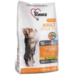 Karma z kurczakiem 2,7kg dla psów ras małych 1st Choice