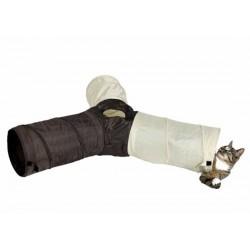 Tunel dla kota nylonowy trzyczęściowy Trixie