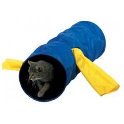 Tunel dla kota nylonowy z bocznymi rękawami Trixie