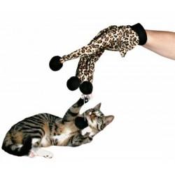 Rękawica do zabawy z kotem Trixie