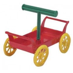 Zabawka dla ptaka - wózeczek