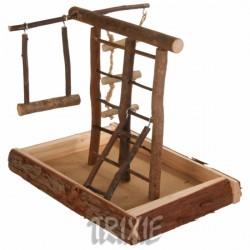 Plac zabaw mały z naturalnego drewna Trixie