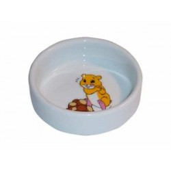 Miska ceramiczna dla chomika, ø 8,5 cm / 100ml
