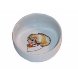 Miska ceramiczna dla świnki morskiej, ø 11 cm / 300ml