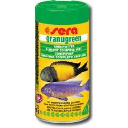 GRANUGREEN - roślinny pokarm granulowany dla pielęgnic