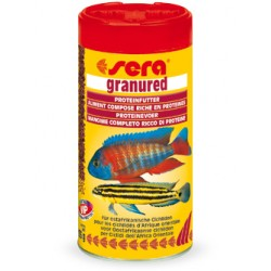 GRANURED - pokarm granulowany dla pielęgnic mięsożernych Sera