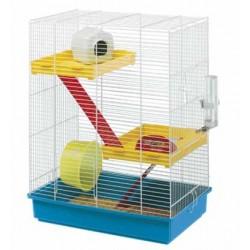 Klatka dla chomika Ferplast Hamster Tris z wyposażeniem